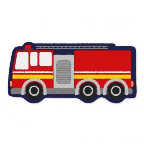 Feuerwehrauto - Kinderteppich