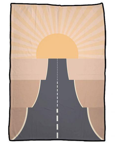 On the road desert - Picknickdecke