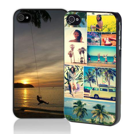 iPhone 4/4s2D-Case (schwarz) selbst gestalten mit swook! switch your look!