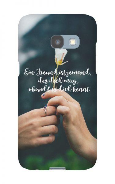 Samsung Galaxy A3 (2017) 3D-Case (glossy) Gibilicious Design Ein Freund ist jemand von swook! - switch your look