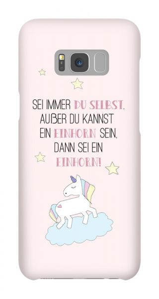 Samsung Galaxy S8 Plus 3D-Case (glossy) Gibilicious Design Always be a unicorn von swook! - switch your look