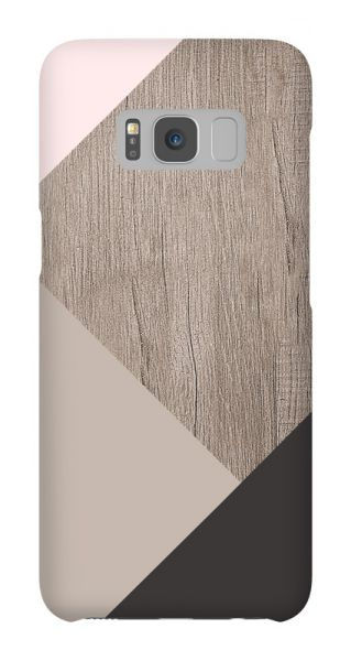 Samsung Galaxy S8  3D-Case (glossy) Gibilicious Design Graphic wood von swook! - switch your look