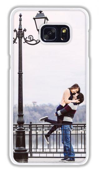 2D-Case (weiß) passend für Samsung Galaxy S6 Edge Plus, Selbst gestalten