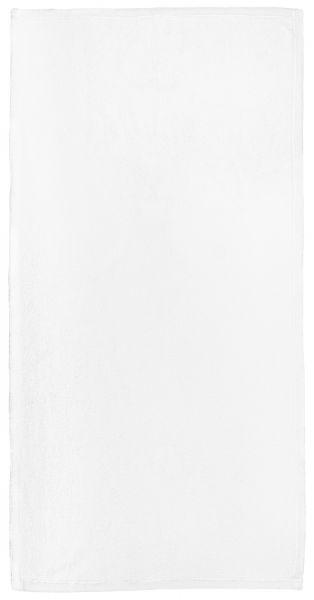 Schwarz weiß Typo 2 - Handtuch mit Namen
