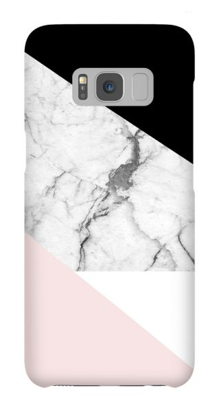 Samsung Galaxy S8  3D-Case (glossy) Gibilicious Design Graphic marble von swook! - switch your look