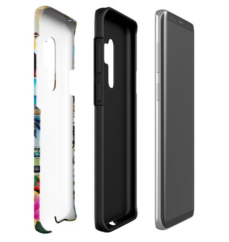 Tough-Case (glossy) passend für Samsung Galaxy S9 Plus, Selbst gestalten