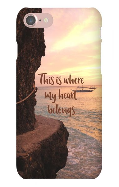 Apple iPhone 7 3D-Case (glossy) Gibilicious Design Where my heart belongs von swook! - switch your look