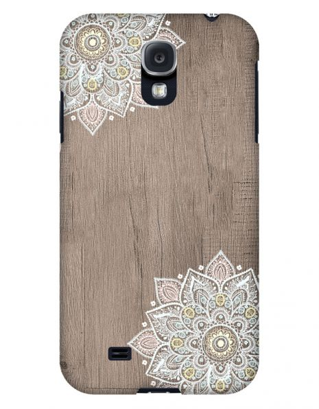 Samsung Galaxy S4 3D-Case (glossy) Gibilicious Design Mandala on wook von swook! - switch your look