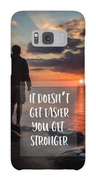 Samsung Galaxy S8  3D-Case (glossy) Gibilicious Design It doesn't get easier von swook! - switch your look