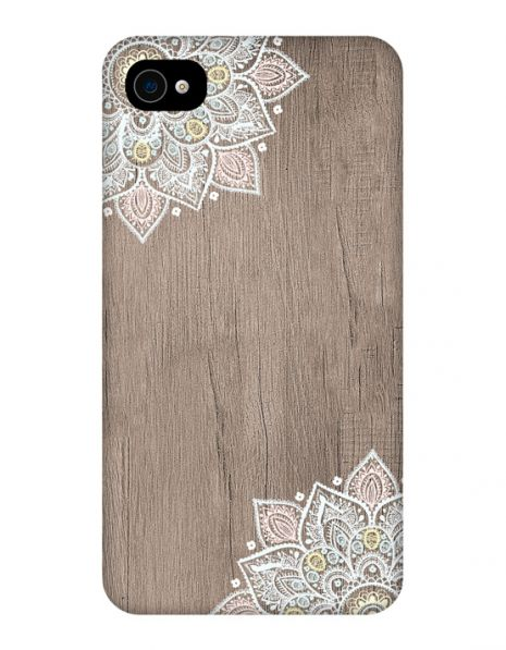Apple iPhone 4/4s 3D-Case (glossy) Gibilicious Design Mandala on wook von swook! - switch your look