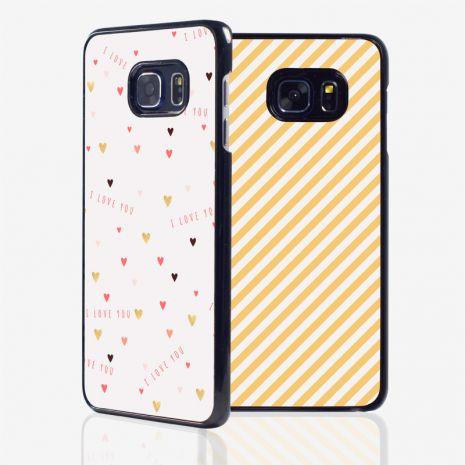 Samsung Galaxy S6 Edge 2D-Case (schwarz) selbst gestalten mit swook! - switch your look