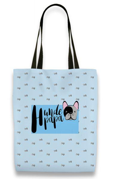 Hundepapa - Shopper mit Namen