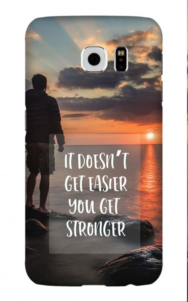 Samsung Galaxy S6 3D-Case (glossy) Gibilicious Design It doesn't get easier von swook! - switch your look