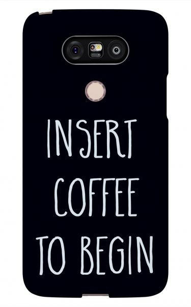 LG G5 3D-Case (glossy) Gibilicious Design Insert coffee to begin von swook! - switch your look