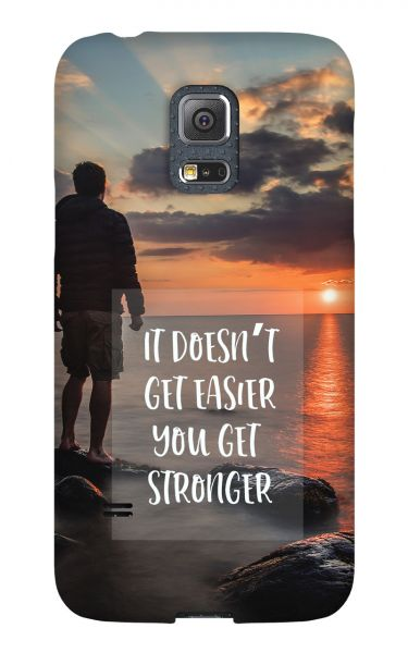 Samsung Galaxy S5 Mini 3D-Case (glossy) Gibilicious Design It doesn't get easier von swook! - switch your look