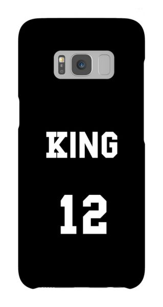 Samsung Galaxy S8  3D-Case (glossy) Gibilicious Design King von swook! - switch your look