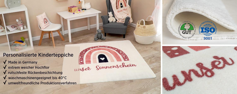 Details zu unseren bedruckten Kinderteppichen