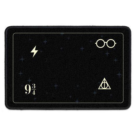 Fußmatte mit Spruch und Namen – Harry Potter