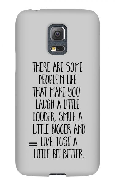Samsung Galaxy S5 Mini 3D-Case (glossy) Gibilicious Design There are some people von swook! - switch your look