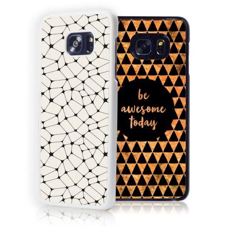 Samsung Galaxy S7 Edge 2D-Case (weiß) selbst gestalten mit swook! - switch your look