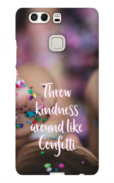 Huawei P9 3D-Case (glossy) Gibilicious Design Throw kindness around von swook! - switch your look