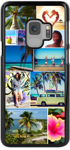 2D-Case (schwarz) passend für Samsung Galaxy S9, Selbst gestalten