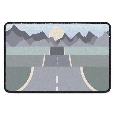 Fussmatte mit Namen - On the road mountains