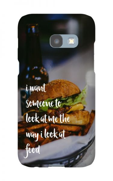 Samsung Galaxy A3 (2017) 3D-Case (glossy) Gibilicious Design The way I look at food von swook! - switch your look