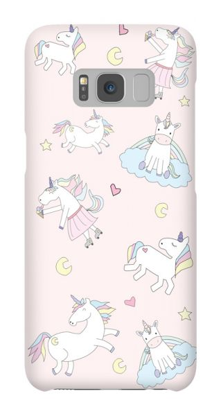 Samsung Galaxy S8  3D-Case (glossy) Gibilicious Design Unicorn love von swook! - switch your look