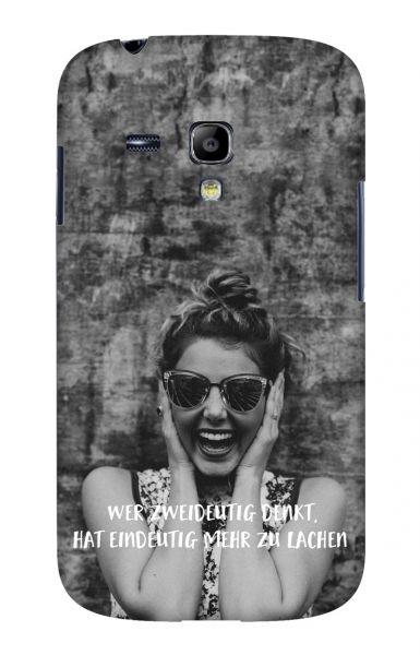 Samsung S3 Mini (i8190) 3D-Case (glossy) Gibilicious Design Wer zweideutig denkt von swook! - switch your look