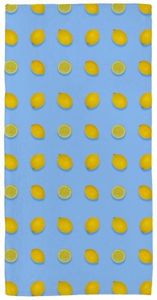 Zitrone - Handtuch mit Namen