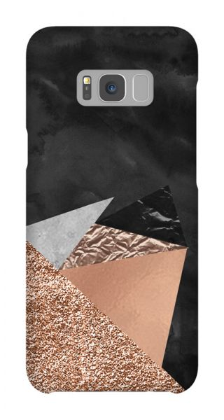 Samsung Galaxy S8 Plus 3D-Case (glossy) Gibilicious Design Rose triangles von swook! - switch your look