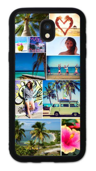Bumper-Case (schwarz) passend für Samsung Galaxy J5 (2017), Selbst gestalten