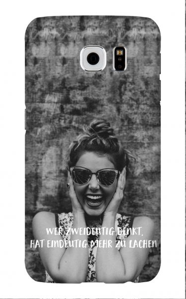 Samsung Galaxy S6 3D-Case (glossy) Gibilicious Design Wer zweideutig denkt von swook! - switch your look