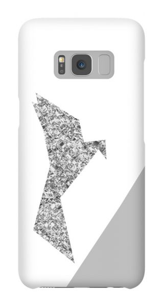 Samsung Galaxy S8  3D-Case (glossy) Gibilicious Design Glitterbird von swook! - switch your look
