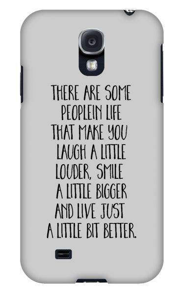 Samsung Galaxy S4 3D-Case (glossy) Gibilicious Design There are some people von swook! - switch your look
