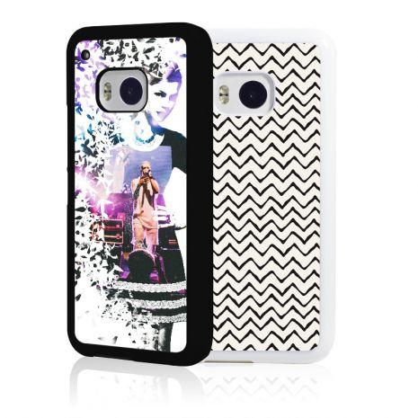 HTC One M9 2D-Case (schwarz) selbst gestalten mit swook! - switch your look