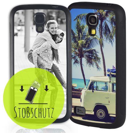 Samsung Galaxy S4 Mini Bumper-Case (schwarz) selbst gestalten mit swook! - switch your look