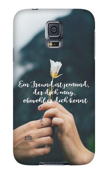 Samsung Galaxy S5 3D-Case (glossy) Gibilicious Design Ein Freund ist jemand von swook! - switch your look
