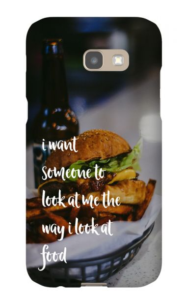 Samsung Galaxy A5 (2017) 3D-Case (glossy) Gibilicious Design The way I look at food von swook! - switch your look