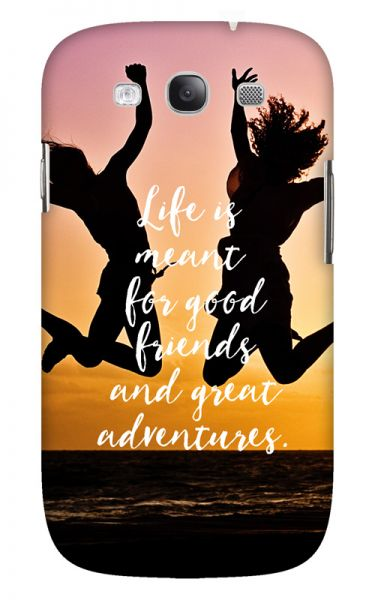 Samsung Galaxy S3 (i9300) 3D-Case (glossy) Gibilicious Design Life is meant for von swook! - switch your look