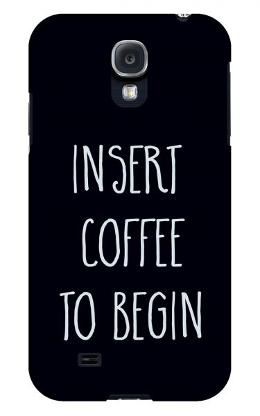 Samsung Galaxy S4 3D-Case (glossy) Gibilicious Design Insert coffee to begin von swook! - switch your look