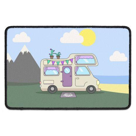 Fussmatte mit Namen - Wohnmobil