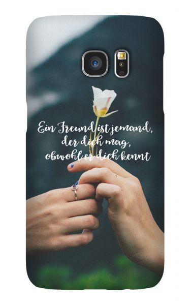 Samsung Galaxy S7 3D-Case (glossy) Gibilicious Design Ein Freund ist jemand von swook! - switch your look
