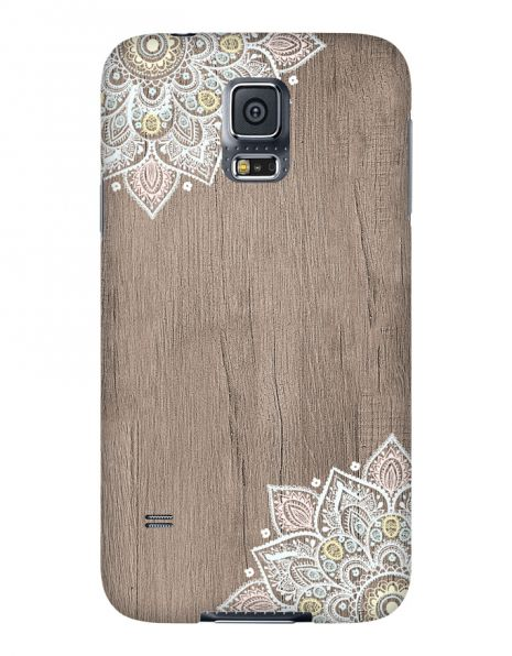Samsung Galaxy S5 3D-Case (glossy) Gibilicious Design Mandala on wook von swook! - switch your look