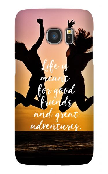 Samsung Galaxy S7 3D-Case (glossy) Gibilicious Design Life is meant for von swook! - switch your look